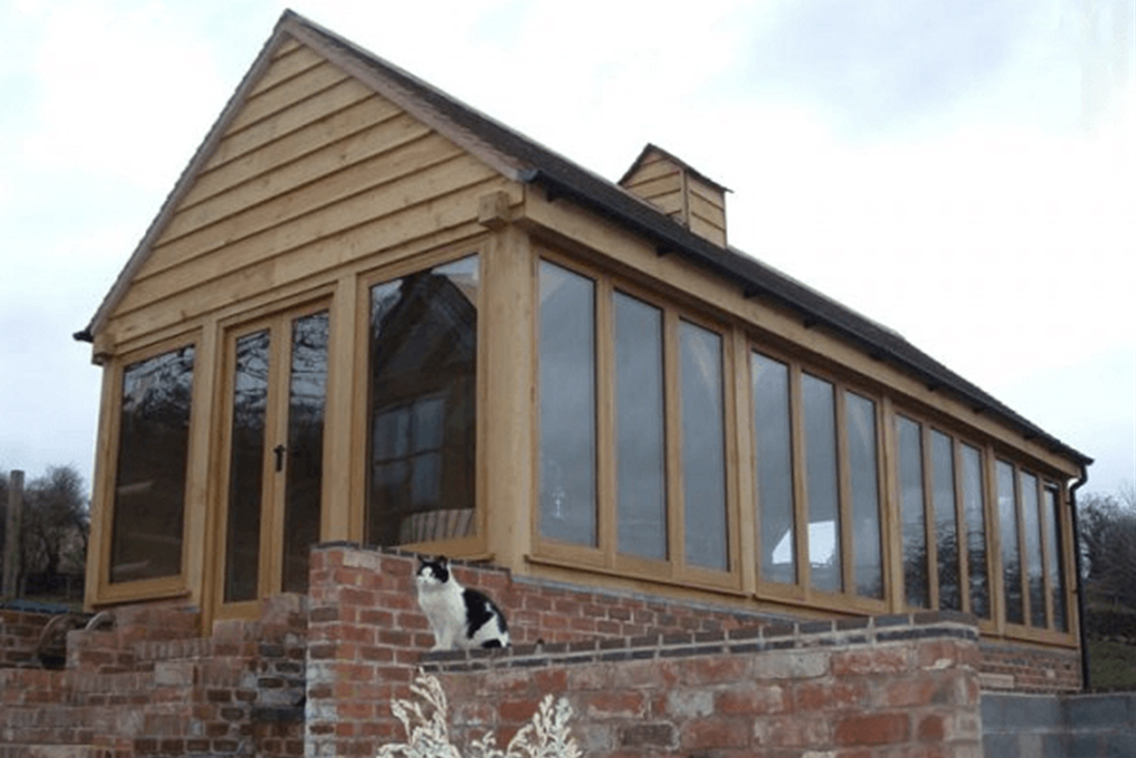 Oak & Glass Garden Room