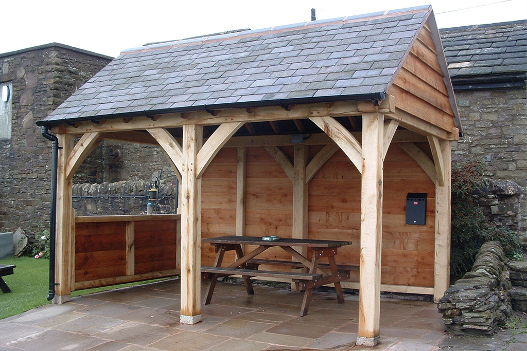 Oak Framed Shelter