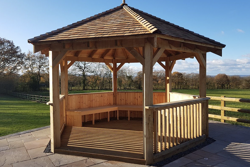 Oak Frame Shelter